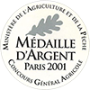Medaille argent 2001