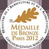 Medaille de bronze 2012